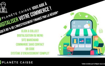 La Région vous aide à digitaliser votre commerce !